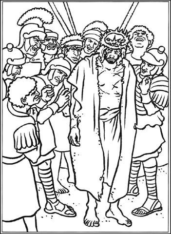 Jezus bespot